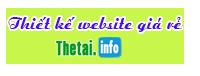 Thiết kế web thetai.info